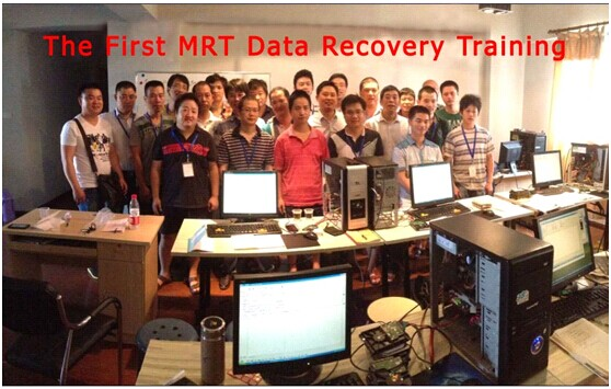 The First MRT Data Recovery Training Class from Jul.18, 2013 to Jul.22, 2013