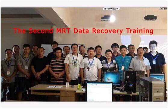 The Second MRT Data Recovery Training on Aug.29, 2013