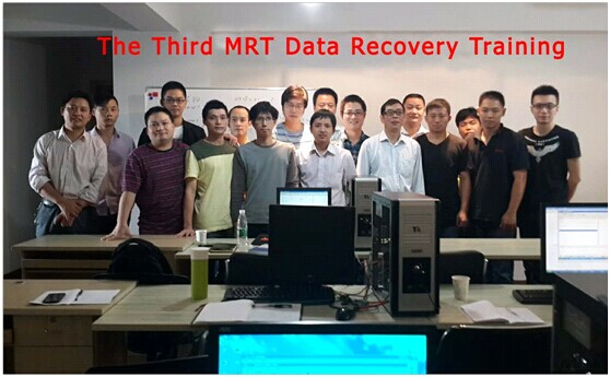 The Third MRT Data Recovery Training on Oct.2, 2013