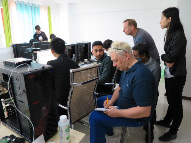 MRT's First International HDD Repair & Data Recovery Training Session Successfully Held in Wuhan, China